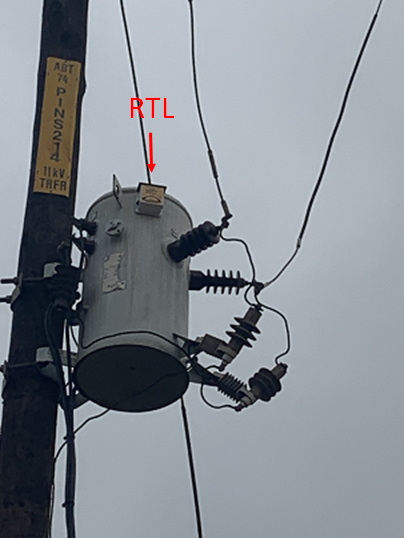 The development of a remote temperature logging system for pole mounted distribution transformers