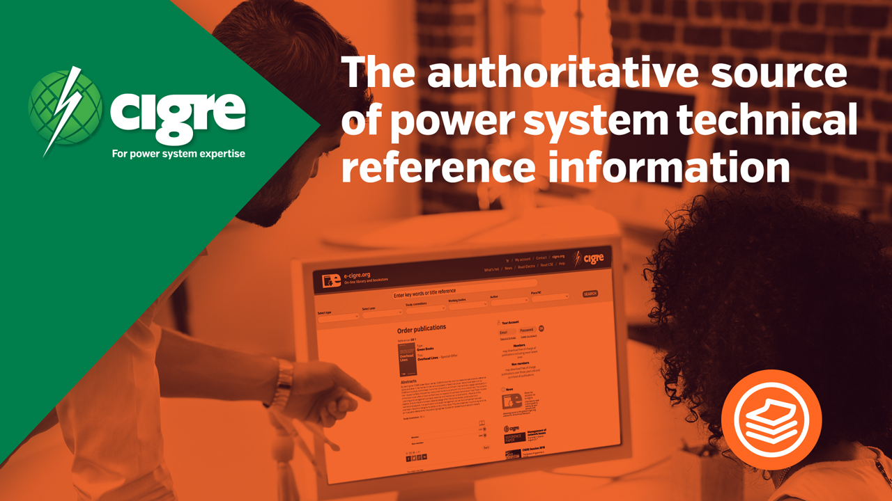 CIGRE authoritative source of power system technical reference information